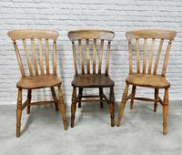 Mixed Set of 6 Windsor Kitchen Chairs (4 of 7)