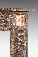 Late 19th Century Grey Marble Fireplace (5 of 6)