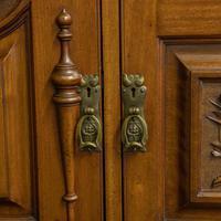 Late Victorian Mahogany Sideboard (12 of 19)