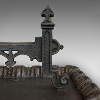 Large Antique Boot Scraper, English, Wrought Iron, Aesthetic Period c.1880 (6 of 12)