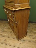 Antique Irish Kitchen Dressser with Glazed Top, Rustic Country Dresser (10 of 11)