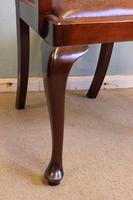 Antique Mahogany Georgian Style Desk Chair (4 of 7)