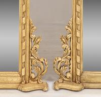 Pair of Victorian Carved Overmantle Mirrors (2 of 6)