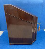 George III Mahogany Cutlery Box (6 of 12)