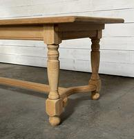 Nice Bleached Oak Farmhouse Dining Table (14 of 19)