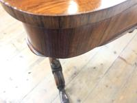 Victorian Rosewood Stretcher Table / Centre Table (15 of 15)