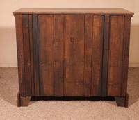 Fine Early 18 Century Walnut & Burr Walnut Chest of Drawers from England (11 of 12)
