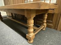 Rare Huge Oak French Farmhouse Dining Table (6 of 18)