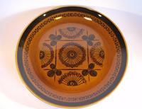 Mid Century Norwegian Pottery Plate - Stavangerflint Sera - Design Inger Waage (3 of 4)