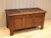Original Late 17th Century Oak Coffer (2 of 11)