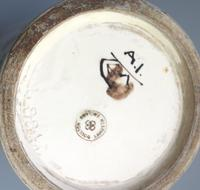 Margaret E Thomson : Royal Doulton Lambeth Faience Vase Mucha Style C.1900 (10 of 10)