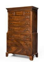 Chippendale Period Mahogany Chest-on-Chest