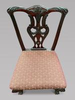 Set of Four 19th Century Chippendale Style Chairs (2 of 3)