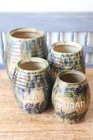 Scottish Pottery Slipware Barrel Storage Jars x4 (22 of 35)