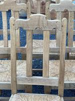Set of 6 French Bleached Oak Farmhouse Dining Chairs (6 of 13)