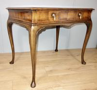 Walnut Two Drawer Writing Table (7 of 8)