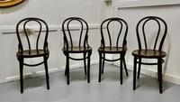 Set of 4 Bistro Bentwood Chairs