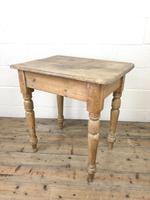 Antique Oak & Pine Farmhouse Table (8 of 8)