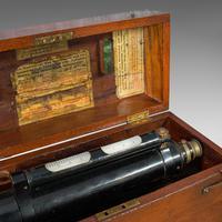 Antique Surveyor's Level, English, Brass, Scientific Instrument, Halden & Sons (2 of 11)