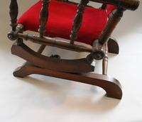 Beech Child's American Style Rocking Chair (6 of 6)