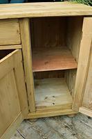 Big! Old 2m Pine Dresser Base / Sideboard / Cupboard / TV Stand - We Deliver! (12 of 13)