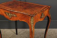Stunning Walnut Bureau Plat Table (7 of 13)