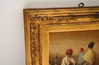 Antique Oil Painting in Gilt Wood Frame (8 of 9)