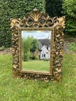 Florentine Carved Giltwood Mirror (2 of 5)