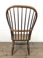 Antique Stick & Hoop Back Armchair (10 of 10)