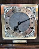 Outstanding 1952 English Westminster Chime Presentation Bracket Clock (3 of 9)