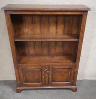 Good Quality Oak Open Bookcase (9 of 11)