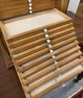 Antique Pine Microscope Slide Cabinet (14 of 17)
