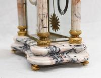 Antique Mantle Clock Set Garniture French Empire Urns (27 of 27)