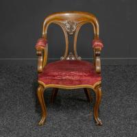 Set of Six Victorian Mahogany Chairs (2 of 13)