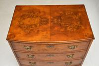 Antique Burr Walnut  Chest of  Drawers (7 of 12)