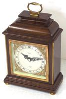 Perfect Vintage Mantel Clock Caddy Top Bracket Clock by Elliott of London Retailed by Malory of Bath (3 of 12)