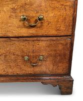 English George III Oak Chest of Drawers (5 of 11)
