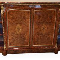 Victorian Inlaid Walnut Side Cabinet (12 of 17)