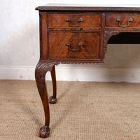 Carved Walnut Writing Desk (3 of 12)