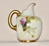 1887 Large Royal Worcester Porcelain Ewer (2 of 8)
