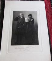 Collection of Victorian Photographic Prints of the Cast  of Trilby 'Play Based on George Du Maurier Novel' (5 of 5)