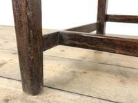 Set of Four 19th Century Oak Farmhouse Chairs (M-189) (3 of 17)