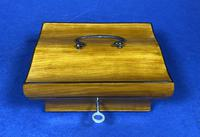 French 19th Century Satinwood Box (9 of 15)