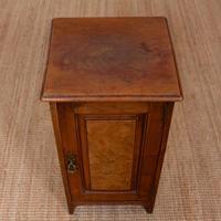 Walnut Bedside Cabinet Victorian (2 of 6)