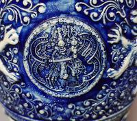 Antique Tobacco Jar, Westerwald, 19th Century (6 of 13)