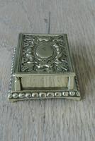 Fine William Tonks & Sons Brass Match Safe / Striker Box Vesta c.1900-1910 (3 of 4)