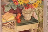 Peggy Rutherford 1930s Oil on Canvas (3 of 5)