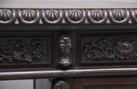 19th Century Chinese Hongmu Pedestal Desk (17 of 19)