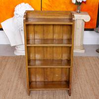 Open Bookcase Bookshelves Carved Beech Wood (2 of 7)