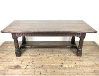 Large Antique Oak Refectory Table (9 of 9)